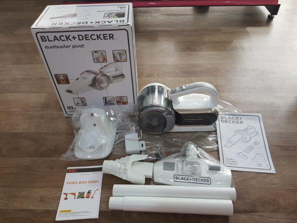 [A013] Máy Hút Bụi BLACK&DECKER - Pin Lithium 18v - PV1820LF