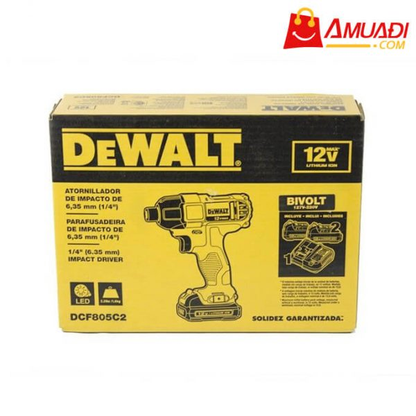 [A324] Máy Bắt Vít Pin DEWALT 10.8V - DCF805C2