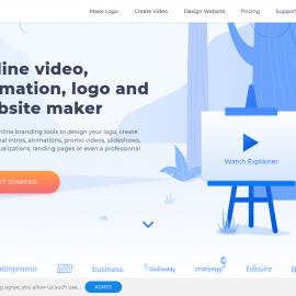 Renderforest website làm Video Intro chuyên nghiệp đơn giản