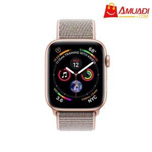 [A703] Apple Watch Series 4 GPS, 40mm viền nhôm vàng dây nylon hồng MU692VN/A