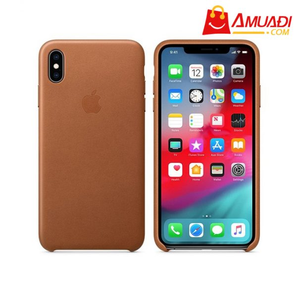 [A712] Apple Ốp lưng iPhone XS Max Leather