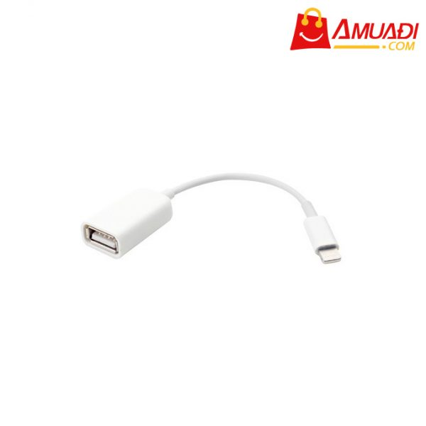 [A739] Apple Cáp Lightning to USB Camera Adapter