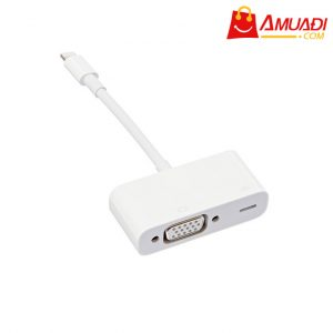 [A743] Apple Cáp Lightning to VGA Adapter