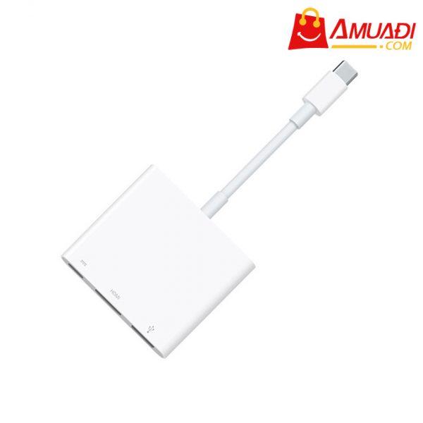 [A746] Apple Cáp USB-C VGA Multiport