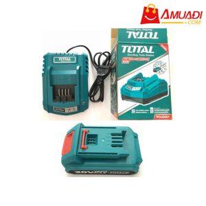[A757] Combo Sạc + Pin Lithium TOTAL 20V