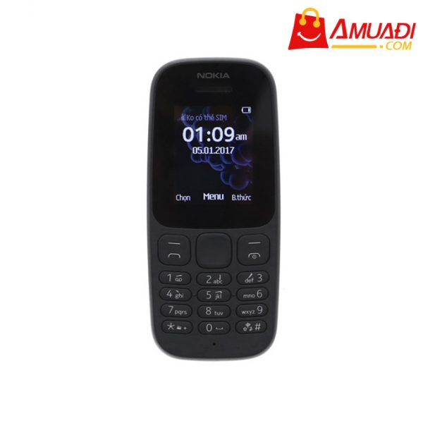 [A769] Nokia 105 Single Sim & Dual Sim (2017)