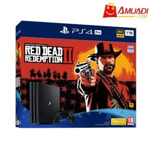 [A849] Máy chơi game PlayStation 4 Pro Bundle Red Dead Redemption 2 chính hãng SONY