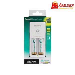 [A869] Bộ sạc nhỏ gọn với 2 pin AA 2100mAh chính hãng SONY BCG-34HW2KN