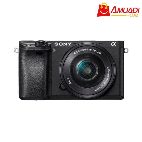 [A891] Máy ảnh E-mount A6300 sử dụng cảm biến APS-C màu đen (gồm lens Kit)