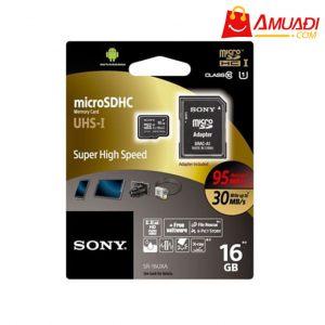 [A962] Thẻ nhớ Micro SDHC 16GB (Memory Card UHS-I Class 10) SR-16UXA
