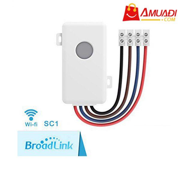 [A1011] Hộp công tắc thông minh Wifi Broadlink SC1PRO