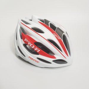 [A1192] Nón Bảo Hiểm Fornix Pro-F1: Trắng Đỏ