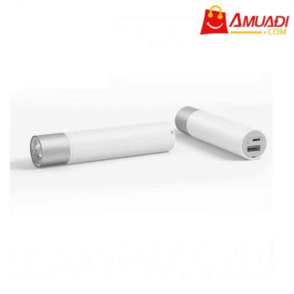 [A1018] Đèn pin cầm tay Xiaomi Flashlight tích hợp sạc dự phòng 3250mAh