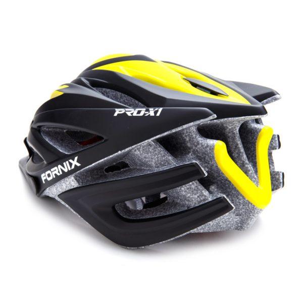 [A1103] Nón Bảo Hiểm Fornix Pro-X1: Đen Vàng