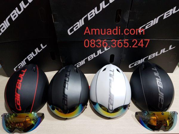 [A1206] Nón Bảo Hiểm Cairbull Aero-R1: Đen