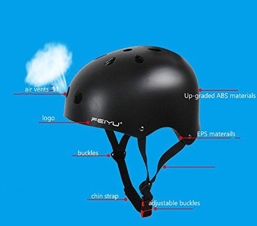 [A1203] Nón Bảo Hiểm BMX (XGame) Feiyu: Xanh Biển Bóng