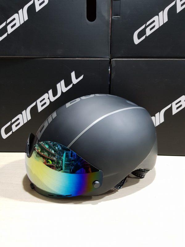 [A1208] Nón Bảo Hiểm Cairbull Aero-R1 có kính: Xám