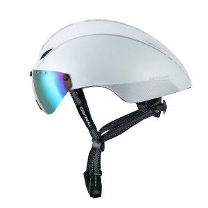 [A1209] Nón Bảo Hiểm Cairbull Aero-R1 có kính: Trắng