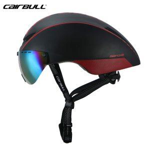 [A1207] Nón Bảo Hiểm Cairbull Aero-R1: Đen Đỏ